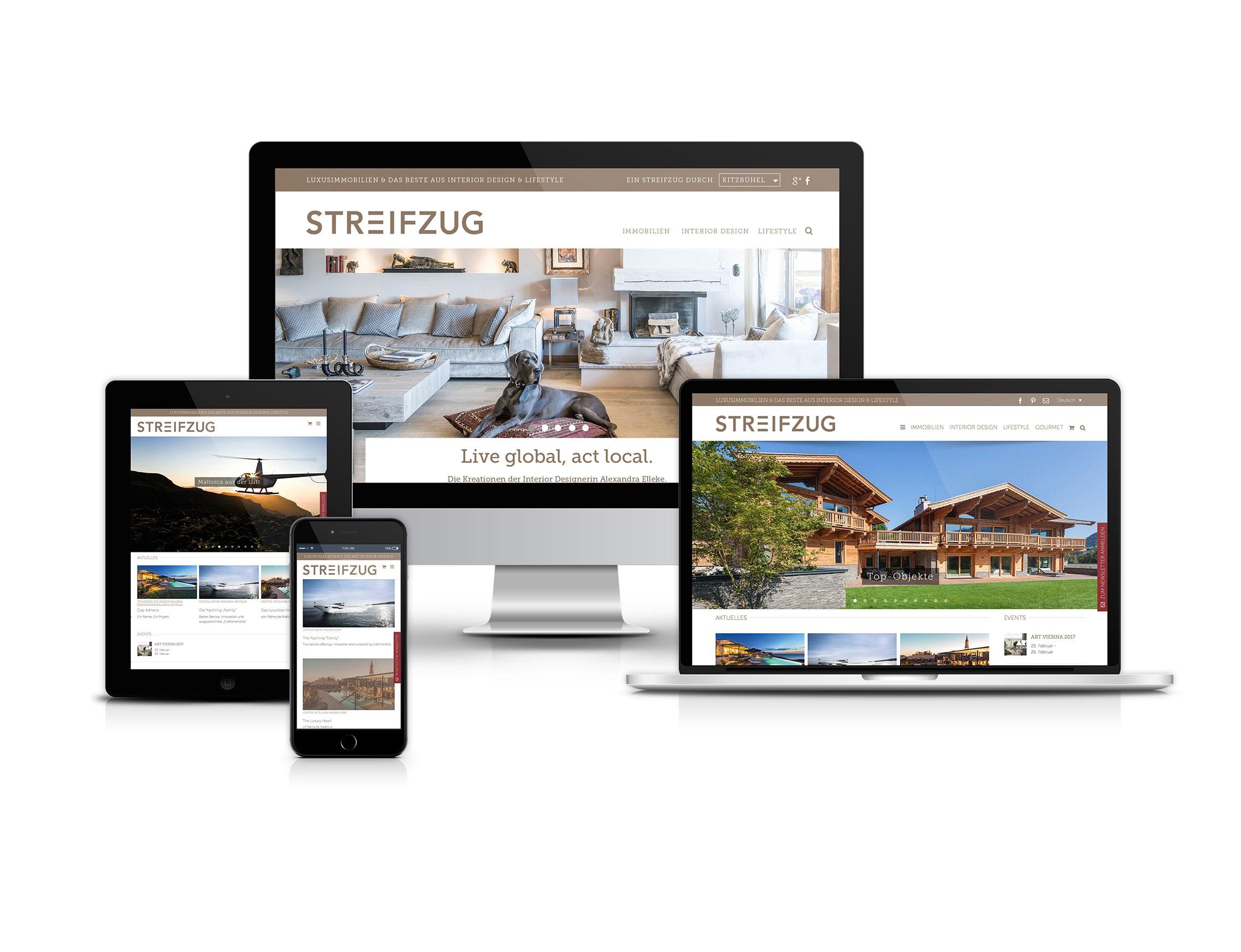 STREIFZUG – UNIQUE - Conception & Communication Agency